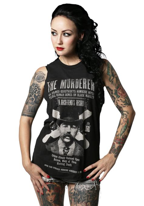 h h h h holmes murderer muscle tee