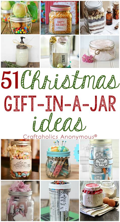 craftaholics anonymous 174 51 gift in a jar ideas