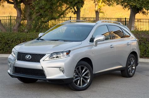 lexus harrier 2013 2013 lexus rx 350 f sport w video autoblog
