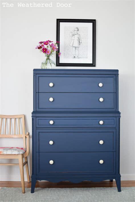 dark blue and brown dresser stacked hepplewhite dresser in a custom navy general
