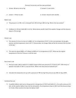 pressure conversions chem worksheet 13 1 answers pressure conversion worksheet resultinfos