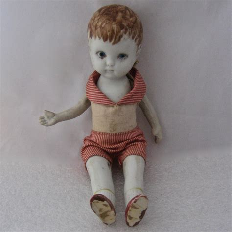 bisque doll arms german bisque boy doll jointed arms legs original clothes
