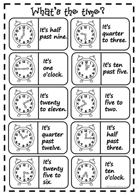 printable clock dominoes number names worksheets 187 free printable time telling