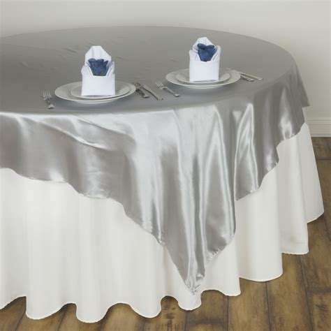 20 satin square 90x90 quot table overlays wedding party prom