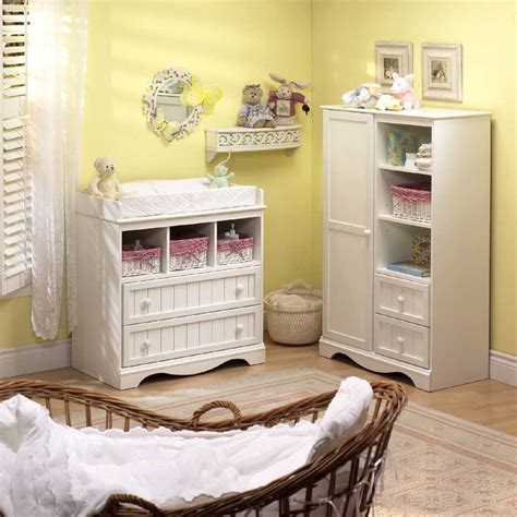 White Baby Bedroom Furniture Sets by South Shore Country Baby Furniture White Nursery