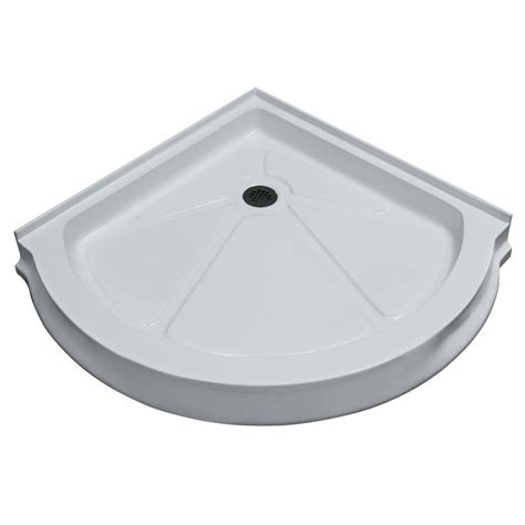 36 Shower Base by Delta Classic 400 36 In X 36 In Single Threshold Shower
