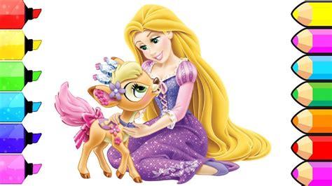 libro disney princess a magical libro da colorare principesse di disney rapunzel coloring pages l disegni e colorazioni dei
