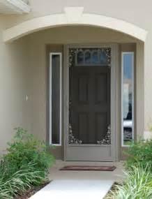 Entry Door With Screen Wholesale Screen Doors Aluminum Screen Doors Custom