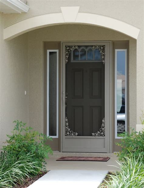 Front Door With Screen Door Wholesale Screen Doors Aluminum Screen Doors Custom Screen Door Company