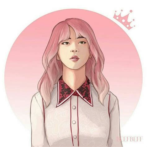 seokjin   girl cr   heart