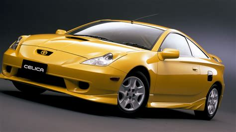 golden cars wallpaper golden toyota celica in stunning hd hd wallpapers