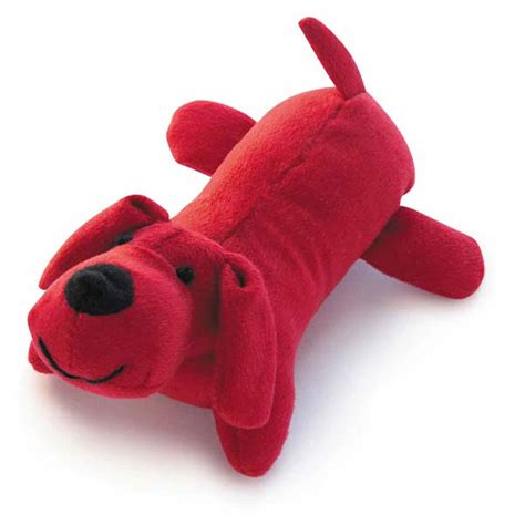 red toy zanies neon yelpers dog toy red with same day shipping