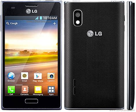lg optimus l5 e610 pictures official photos