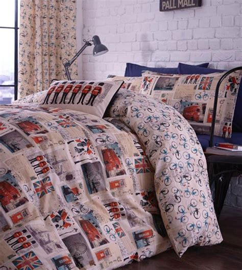 travel themed bedding travel transport theme bedding london new york nyc usa uk