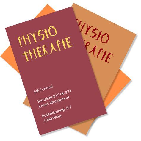 Visitenkarten Drucken Wien by Visitenkarten Gestaltung Und Druckvorbereitung Diedesign At