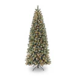 pre lit lakeland spruce slim christmas tree 7 5ft bents