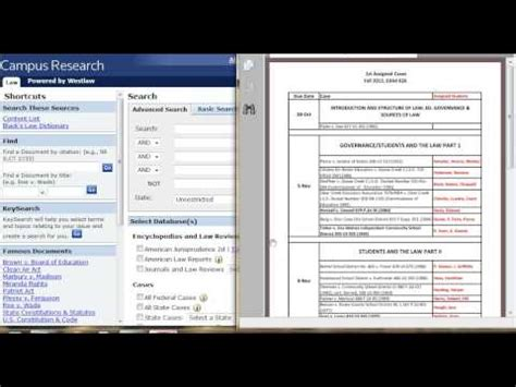 How To Search On Westlaw Westlaw
