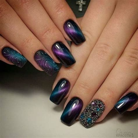 gel nail designs for middle aged women 24 ways to do cat eye nails revelist
