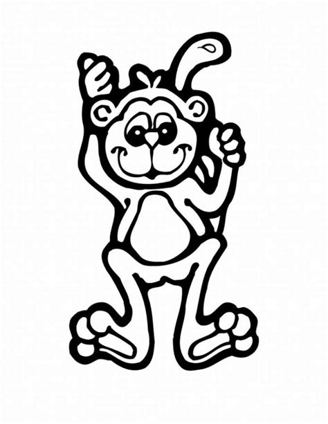 monkey coloring pages free printable pictures coloring free printable monkey coloring pages for kids