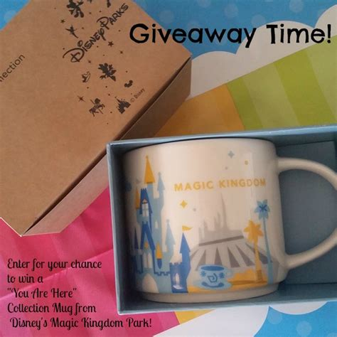Walt Disney World Giveaway - walt disney world mug giveaway