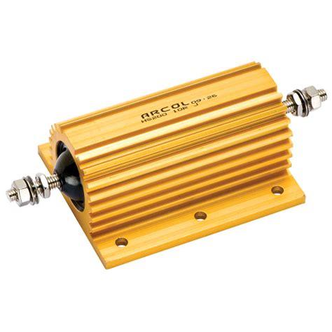 power resistor arcol 10r hs 200w arcol aluminium clad resistor rapid