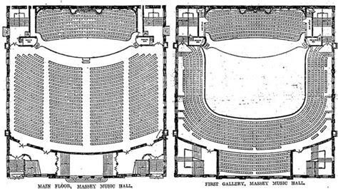 massey hall floor plan a brief history of toronto s iconic massey hall