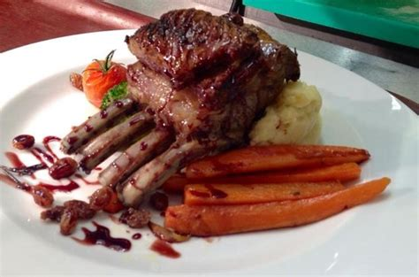 la veranda carshalton rack of in marsala wine reduction picture of la