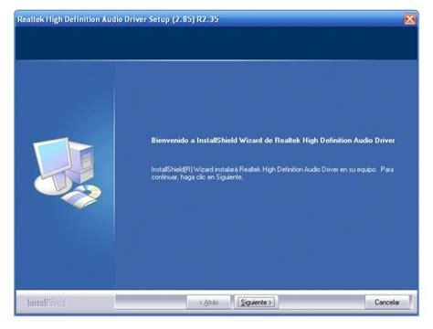 format audio realtek realtek hd audio drivers download