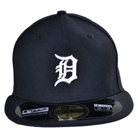 new era detroit tigers mlb home 59fifty fitted baseball