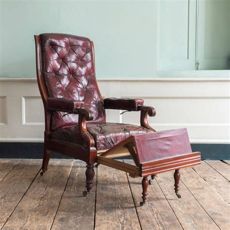 reclining reading chair william iv mahogany reclining reading chair for sale at