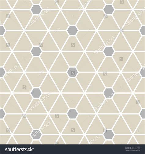 hexagonal pattern grid hexagonal grid designvector pattern stock vector 521254114