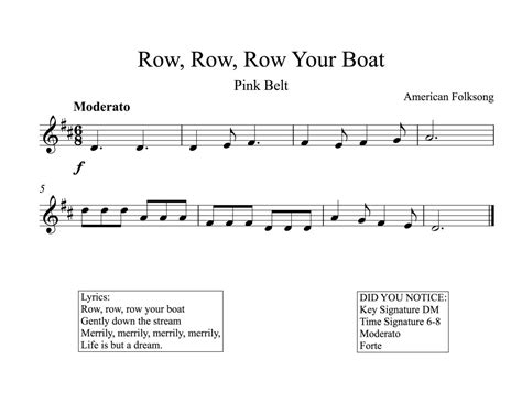 row row your boat on recorder row your boat notes www topsimages