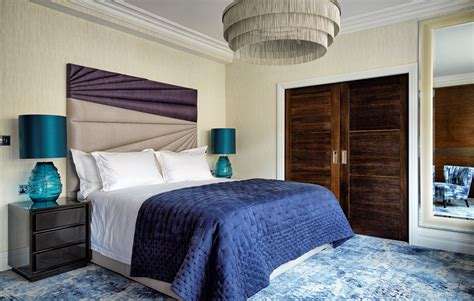 deco master bedroom modern deco in knightsbridge by kia designs the luxpad