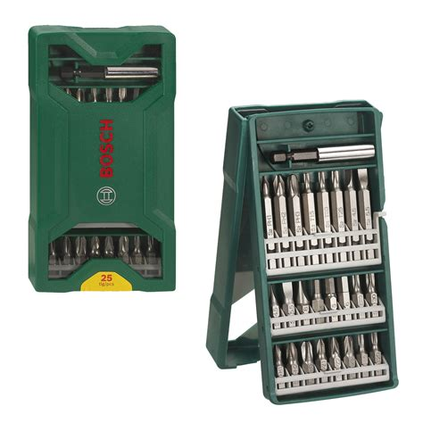 Mata Obeng Ph2 65mm Bosch 1 jual bosch x line 25 pcs mata obeng set tech