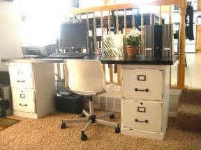 Diy Cheap Home Decorating Ideas how to turn a file cabinet into a desk diy projects for