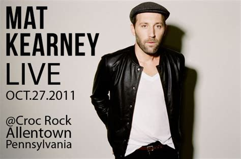 Mat Kearney Concert Tickets by The Jfh Concert Reviews And Dates Mat Kearney Leagues In