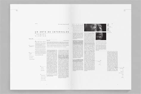 editorial design page layout minimal editorial design plus black equals great design