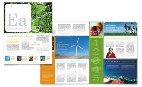 charity newsletter template environmental agricultural non profit newsletter