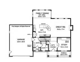 Center Colonial Open Floor Plan Home Plan Bright And Open Colonial Startribune