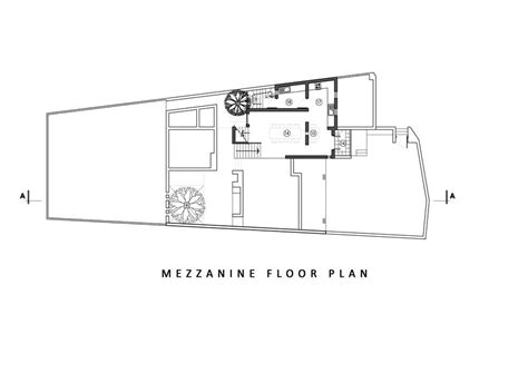 house with mezzanine floor plan aeccafe archshowcase