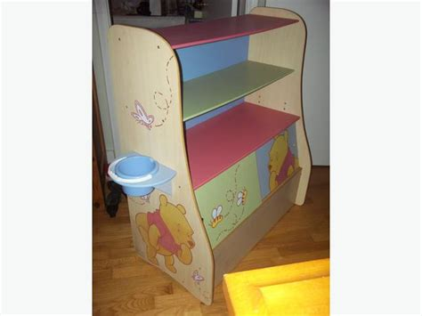 winnie the pooh book shelf storage unit saanich