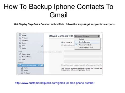 Lookup Gmail Address By Phone Number How To Backup Iphone Contacts To Gmail Contact Gmail