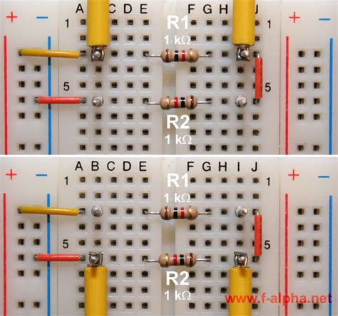 resistor in series experiment f alpha net experiment 6 series circuit ii
