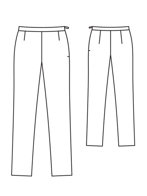 mens yoga pants pattern free narrow trousers 01 2013 122b sewing patterns