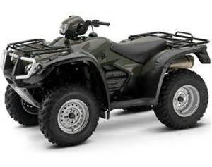 Honda Foreman 500 Dimensions 2008 Honda Fourtrax Foreman Rubicon 500 Specifications And