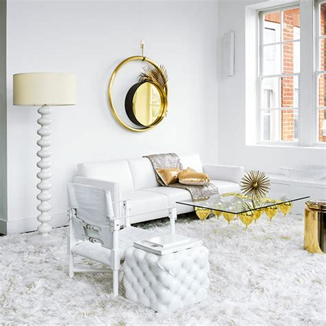 white house gold room white and gold living room decorating ideal home