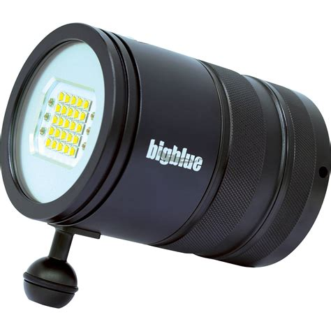 Dive Light by Bigblue Vl15000pm Led Dive Light Black Vl15000pm B H
