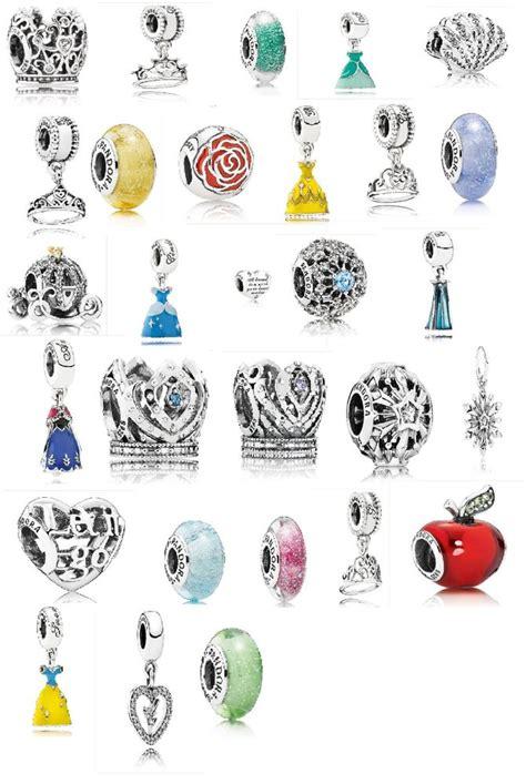 disney princess charms pandora disney pandora charms 2015 spring princess collection