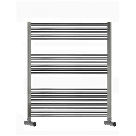 bathroom radiators 400mm wide 750mm wide 1000mm high towel radiator chrome straight