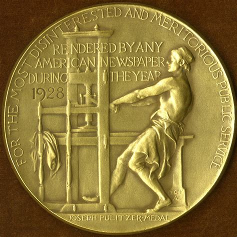 george anthan journalist and two time pulitzer prize booksellers hope a pulitzer prize for fiction is awarded